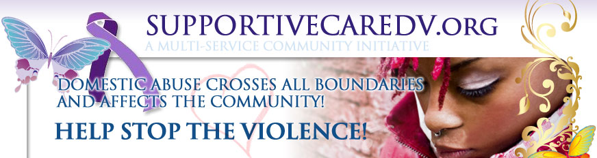 Supportive Care Domestic Violence Header Image
